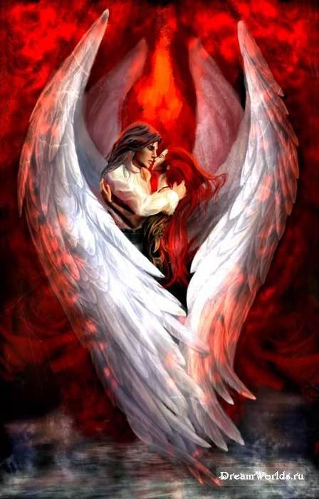 ангел и демон картинка скачать