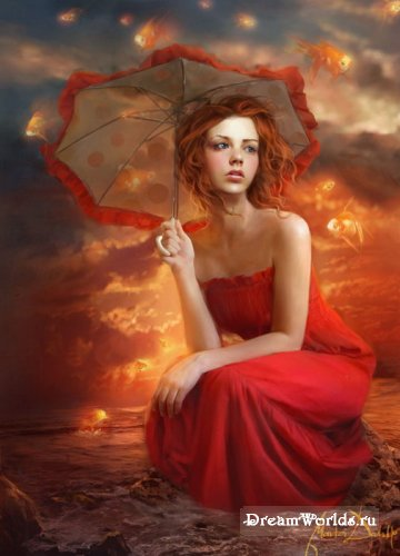 Рисунки и картины художницы Marta Dahlig