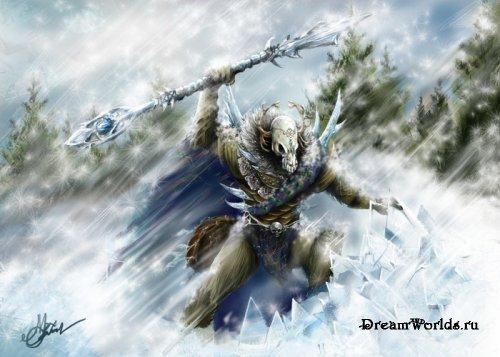Кланами огня и льда часть 4 клан льда
