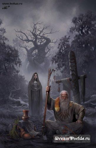 Практически легенда русской фэнтези живописи - Лео Хао.