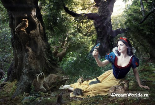 Фотокартины Энни Лейбовитц для Walt Disney