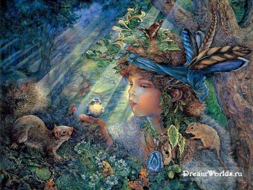 Картины художницы Жозефины Уолл.