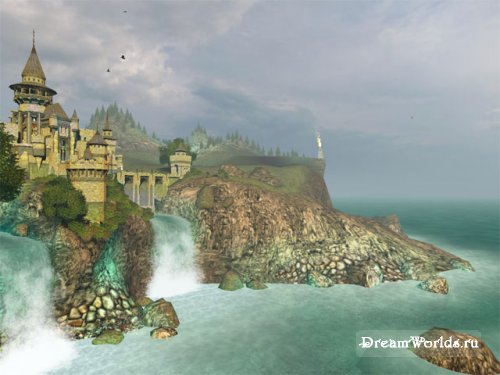 Скринсейвер Ancient Castle 3D