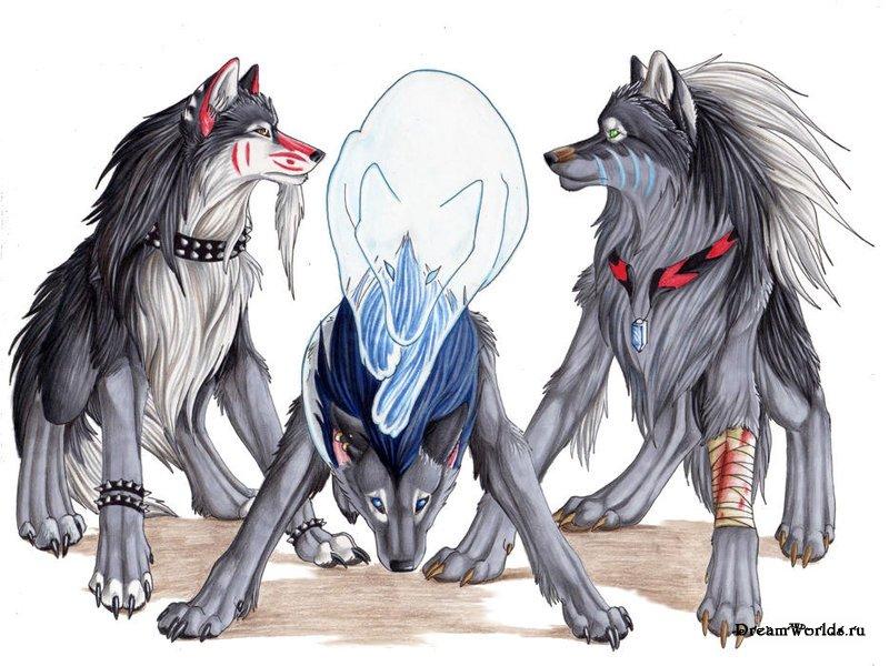Разные волки