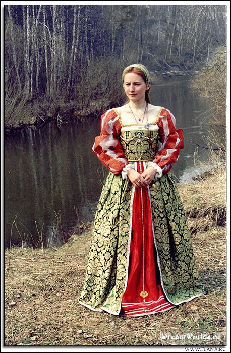 Средневековый Женский Костюм