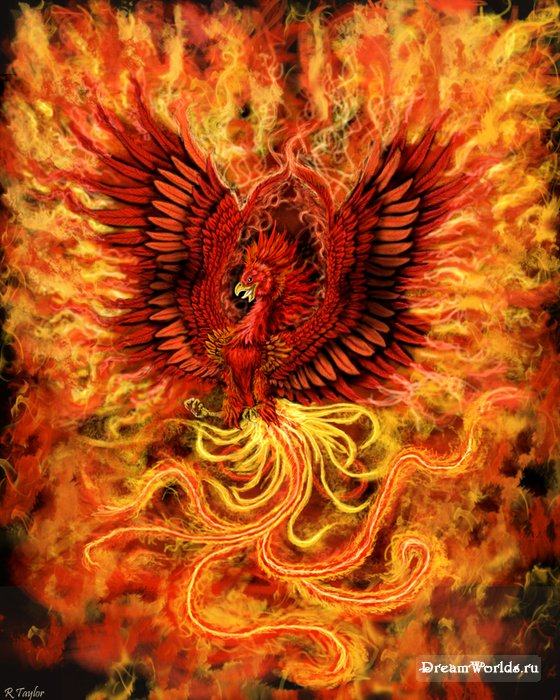 Мифология-Феникс как символ