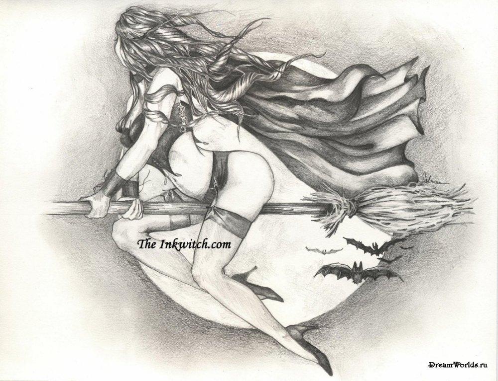 Рисунки карандашом секс девушки88