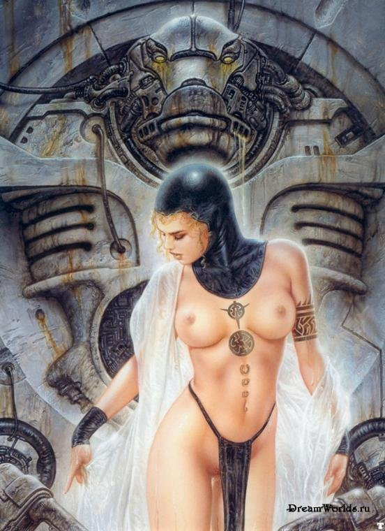 Louis Royo Tattoo PP0634 Льюис Ройо (Luis Royo) » Фэнтези, фантастика, игры.
