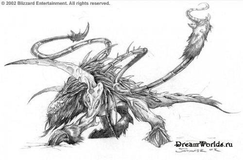 Warcraft - нежить и легион.