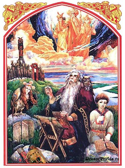 Изображения Языческих богов славян скотий