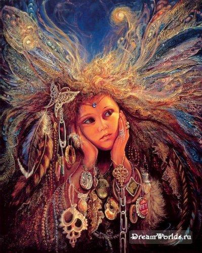 Дети глазами художницы Josephine Wall