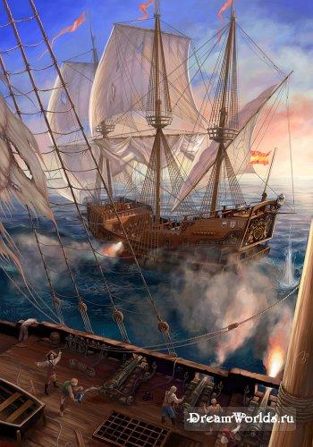 Корабли и море 2