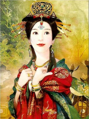 Потрясающие портреты тайваньской художницы Der Jen - часть вторая