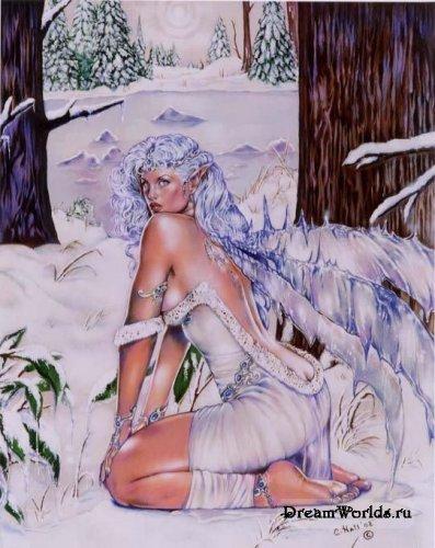 Природа и женщина