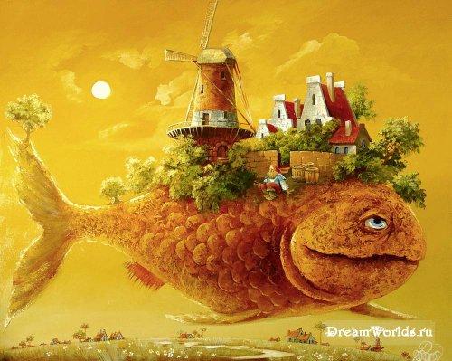 Сказочная живопись Антона Горцевича