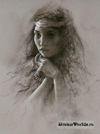 Волшебные портреты Lee Bogle