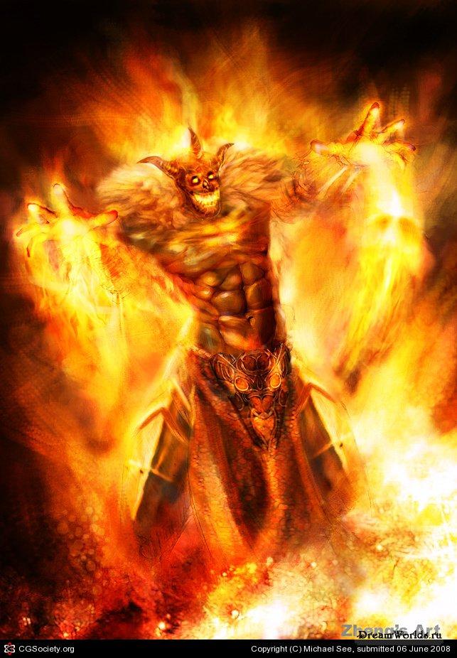 Как сделать себе силу огня