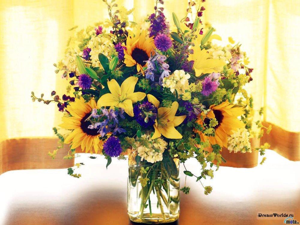 Цветы для бабушки картинки 6