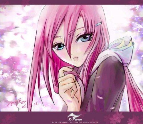 картинки связанных девушек аниме: