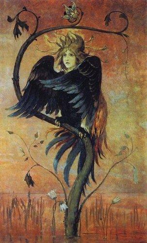 Алконост, Сирин, Гамаюн... Райские птицы Древней Руси