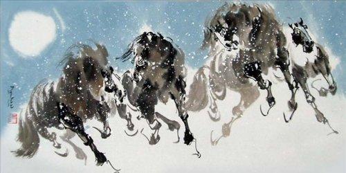 Китайская живопись. Анимализм