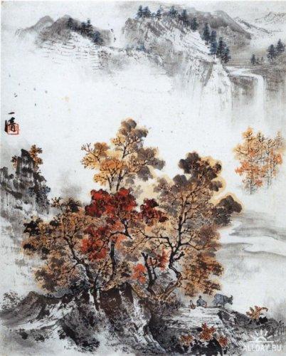Китайская живопись. Пейзажи