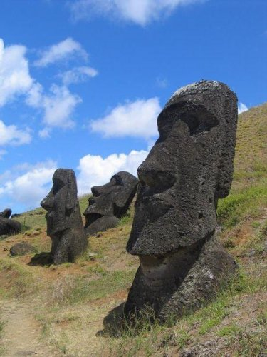 Загадочные статуи острова Пасхи