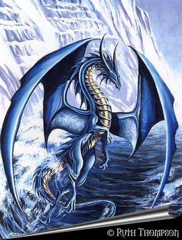 Рхема вышивки Дракон - символ