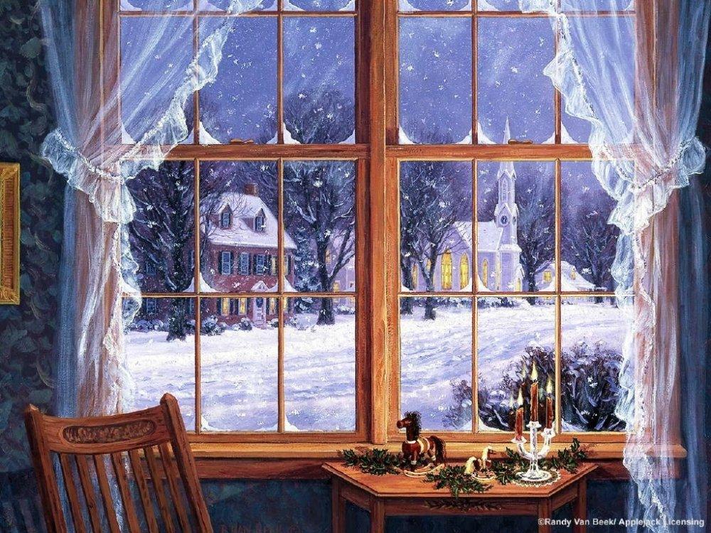Картинки для декупажа природа зимой