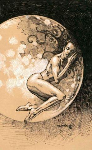 Богиня луны дренегреческой мифологии