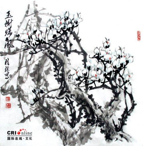 Китайская живопись. Флористика