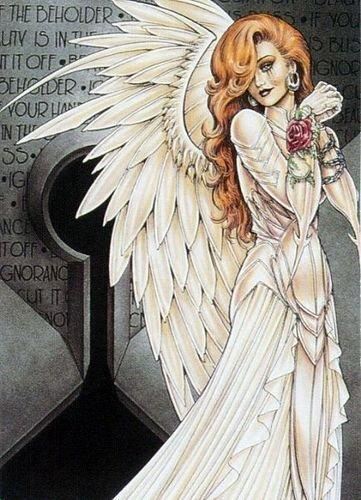 Аниме ангелы