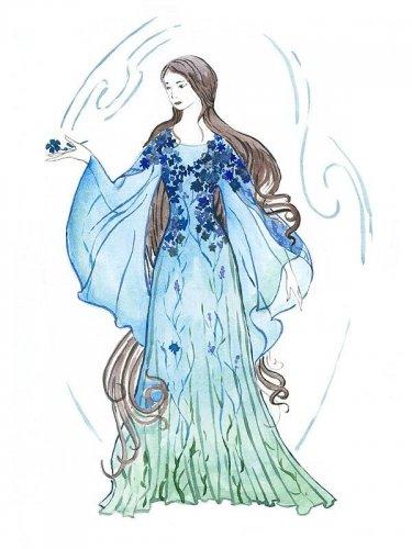 Вечерние платья с длинным рукавом.