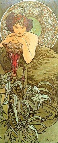 Alfons Mucha/ Альфонс Муха 2011. страница календаря 6 Настенный календарь на 2011 г. Тематика: художники.