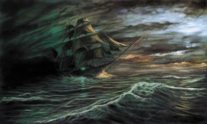 Оригинал - Схема вышивки Море