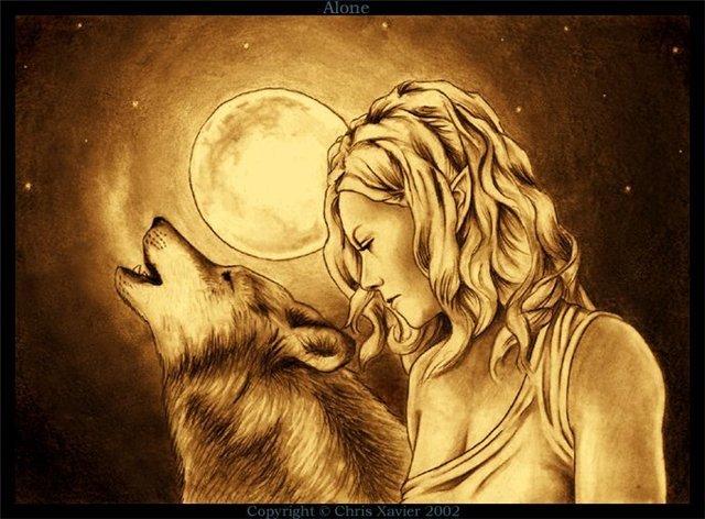 Волки и оборотни