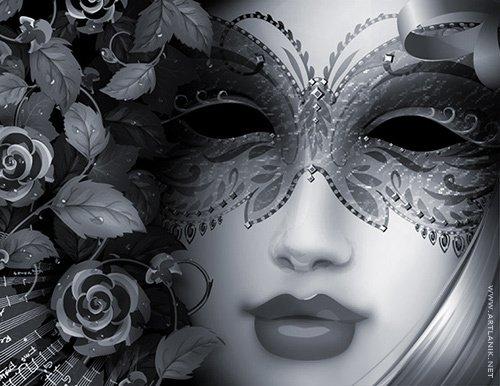 Мои силы крадет одиночество.  Фальшивую маску.  Холоднее, морознее вечера.  Кто в истории твоего сердца.