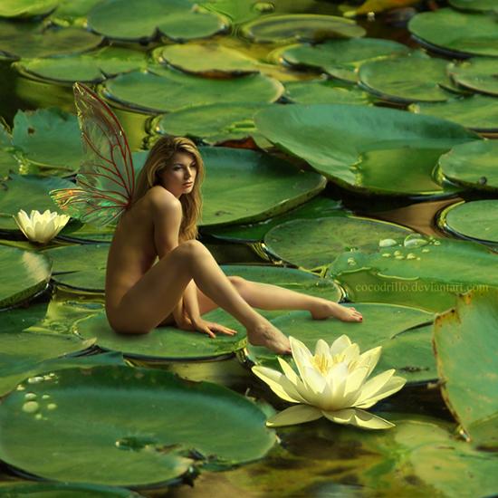 Женщины в цвету голые фото