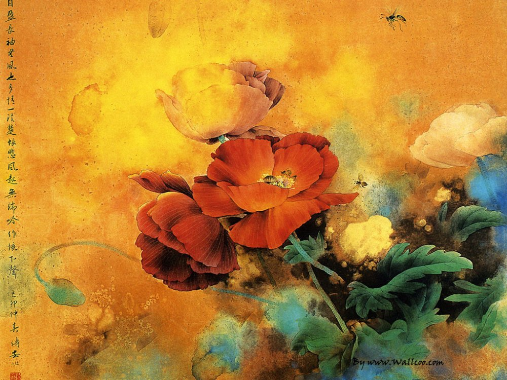 Цветы китая картинки 7