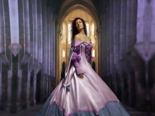 Королевы и принцессы в фэнтези
