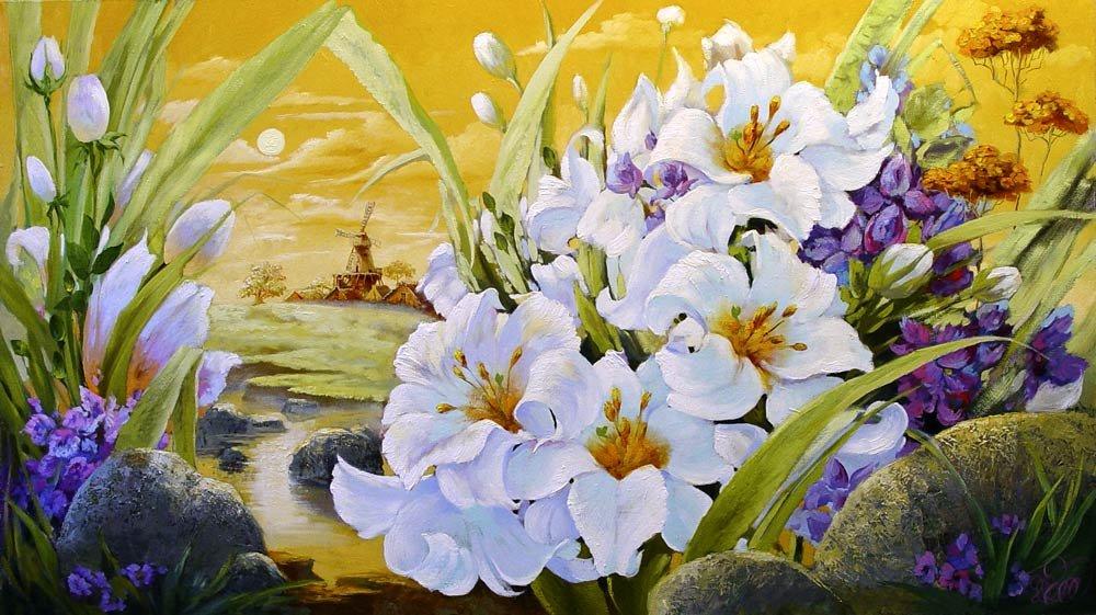 Картинки декупажные прекрасные цветы 6