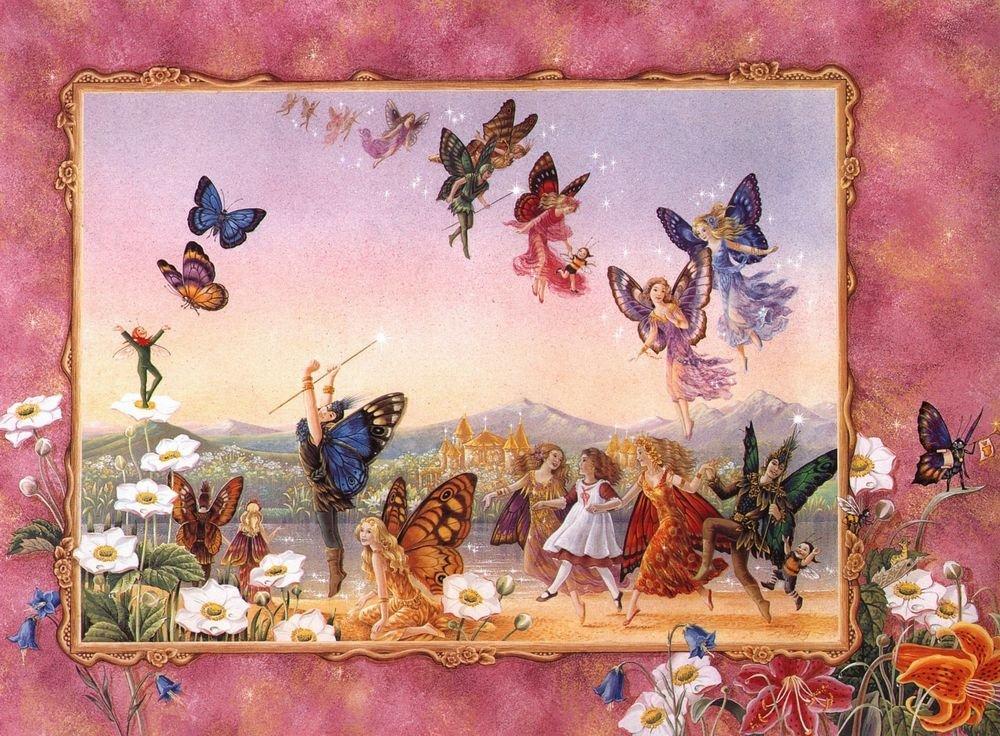 Сказочные цветы картинки для детей 6