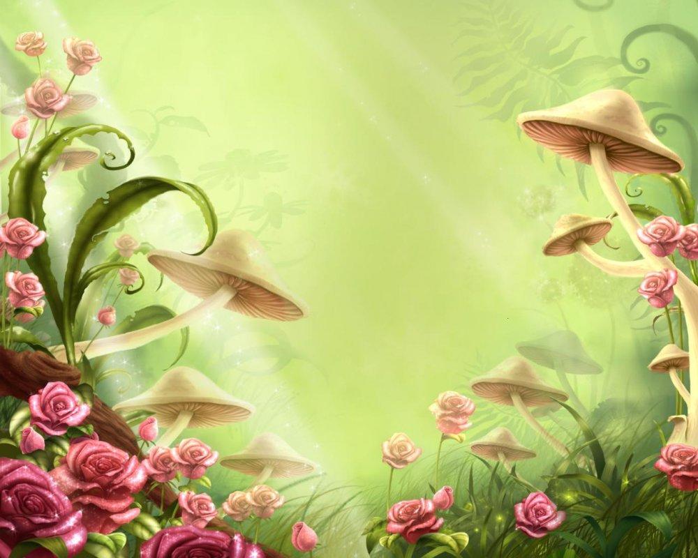 Сказочные цветы картинки для детей 1