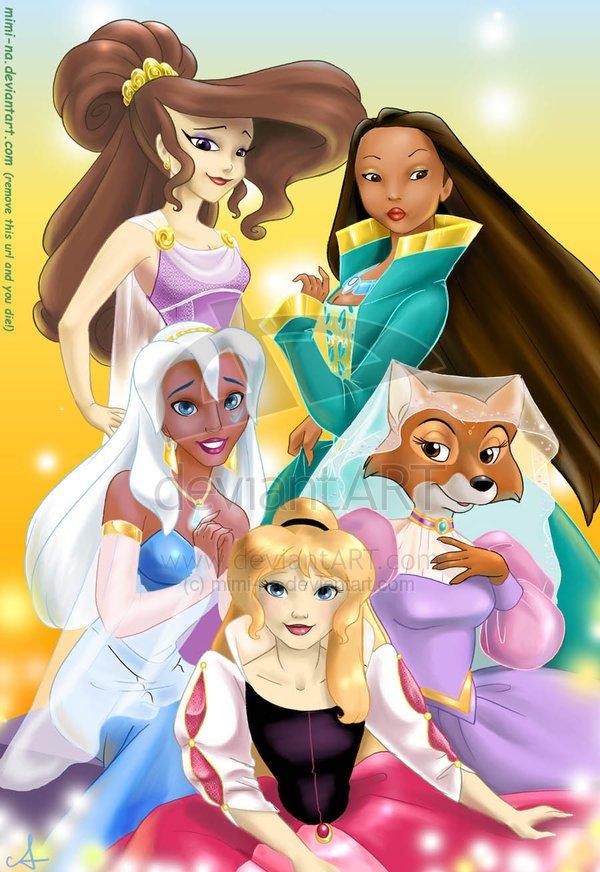Прикольные картинки принцесс диснея 5