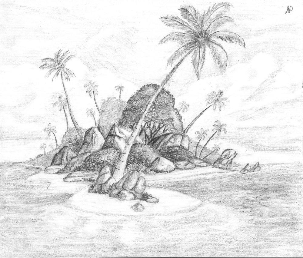 рисунки карандашом фэнтези: