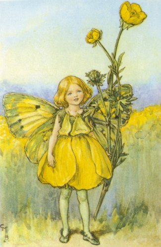 Сесиль Мэри Баркер (Cicely Mary Barker).Лето.