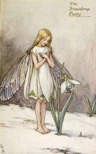 Сесиль Мэри Баркер (Cicely Mary Barker).Зима.