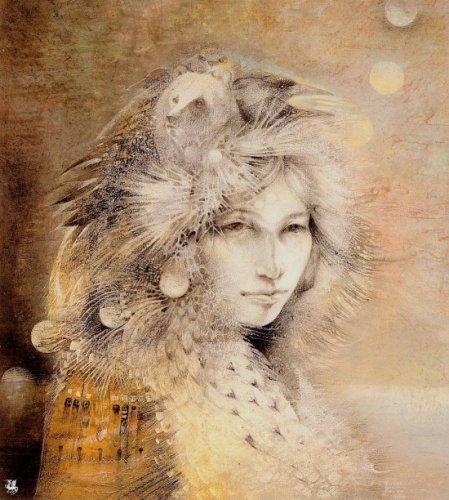 Работы Susan Seddon Boulet. Шаманы