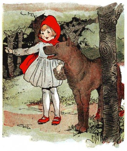 Красная шапочка. Иллюстрации