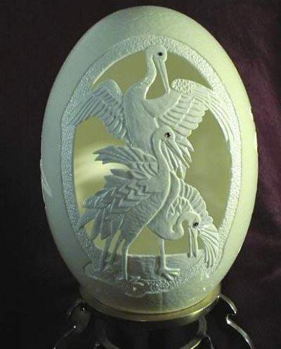 Резьба по яйцам: креатив к Пасхе.